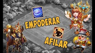 Download Talento Afilar y Empoderar GUÍA COMPLETA, Héroes Adecuados, Ejemplos y MAS! Castle Clash #THIN36 Video