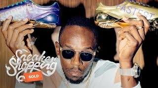 Download Usain Bolt Goes Sneaker Shopping With Complex Video