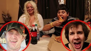 Download PIZZA EATING CONTEST GONE WRONG!! Video