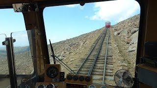 Download Pikes Peak Cog Railway – Driver's Eye View – Part 1 – The Long Climb Video