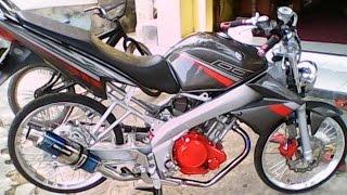 Download Motor Trend Modifikasi   Video Modifikasi Motor Yamaha Vixion Air Brush Velg Jari-jari Terbaru Video