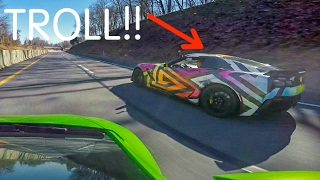 Download Lamborghini Huracan Gets TROLLED By 700hp Z06 Video