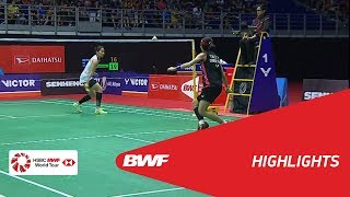 Download WS | TAI Tzu Ying (TPE) [1] vs Ratchanok INTANON (THA) [5] | BWF 2018 Video