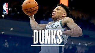 Download Best Of Giannis Antetokounmpo's Dunks! | 2018-19 NBA Regular Season & Playoffs Video