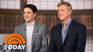 Download 'Karate Kid' Sequel 'Cobra Kai' Reunites Ralph Macchio And William Zabka | TODAY Video