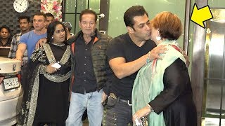 Download Salman Khan Shows LOVE & Respect For Mom Helen In Front of Father Salim Khan Video