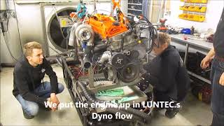 Download Dieselmeken show OM606 in dyno 427hp 700 nm Video