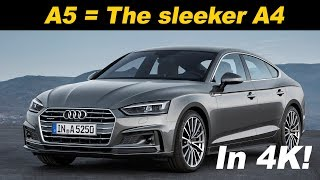 Download 2018 Audi A5 Sportback Review and Comparison Video