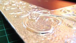 Download Técnica perfilado plano - Repujado en aluminio Video