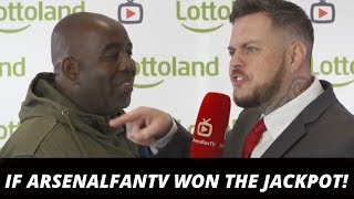 Download If ArsenalFanTV won the jackpot! Robbie's dream… (Ft DT, Troopz, Claude, TY & Moh) Video