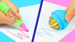 Download 12 DIY Weird Back To School Supplies You Need To Try / 12 Back To School Pranks! Video