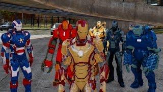 Download Iron Man Army vs The Incredible Hulk Video