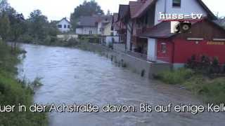 Download Hochwasser in Lindau(B) - Achstraße Video