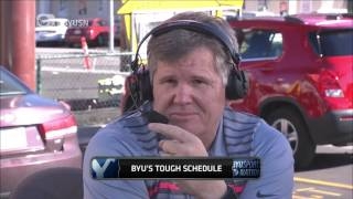 Download VIDEO: Dan Hawkins ESPN analyst talked about BYU's season (09 OCT 2015) Video