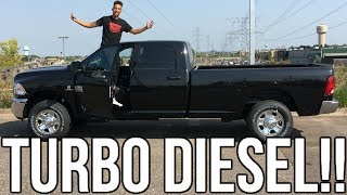Download 2018 Turbo Diesel 2500 Cummings Review!! From A Tall Guys Perspective.. Video