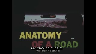 Download ANATOMY OF A ROAD 1960s ROAD AND HIGHWAY CONSTRUCTION FILM 78004 Video