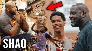Download Shaq Gets HYPE Watching Shareef O'Neal DUNK at Drew League! POSTER OF THE YEAR?! Video