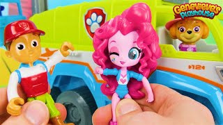 Download Best Paw Patrol Toy Video for Kids Learn Colors, Animal Names with My Little Pony & Jungle Patroller Video