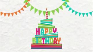 Download Happy Birthday Template Video