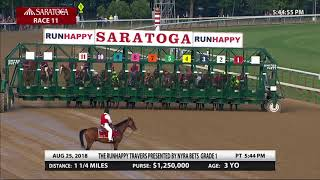 Download Catholic Boy - 2018 - The Runhappy Travers Stakes Video