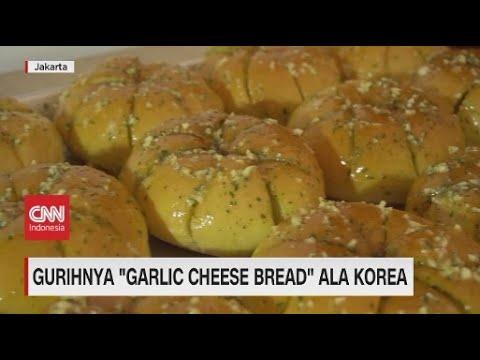 Gurihnya 'Garlic Cheese Bread' Ala Korea