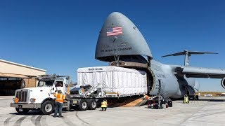 Download ALERT (June 16, 2019) US Largest Cargo Plane. C-5 Galaxy Surprising Nickname Video