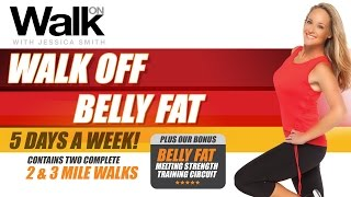 Download Walk On: Walk Off Belly Fat - 5 Days A Week! - with Jessica Smith Video