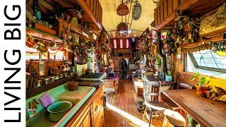Download From Trash To Treasure: Amazing School Bus Conversion Using All Reclaimed Materials Video