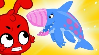 Download Crazy Earth Shark and Morphle the super hero! Kids Animation episodes! Video