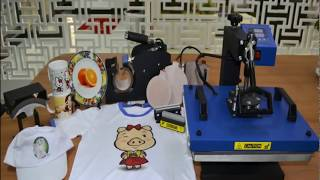 Download Subli-Mate ® 6 in 1 multifunctional heat press machine Video