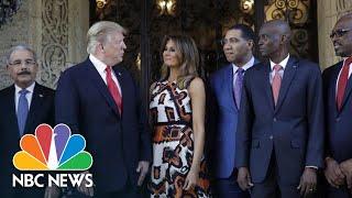 Download Trump Meets With Caribbean Leaders At Mar-A-Lago | NBC News Video