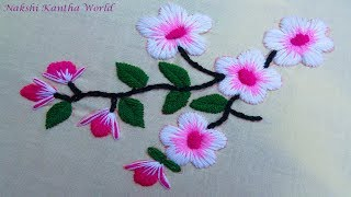 Download Hand Embroidery Flower Embroidery by Nakshi Kantha World Video