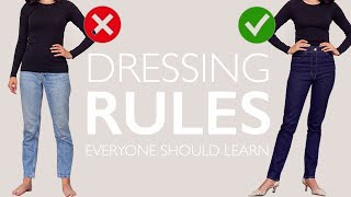 Download Dressing Rules EVERYONE Should Learn Once And For ALL Video