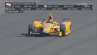 Download IndyCar Series 2017. Qualifying 2 Indy 500. Fernando Alonso Run Video
