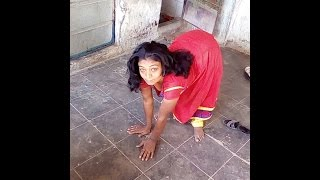 Download Handicapped woman still has the drive to survive... Video