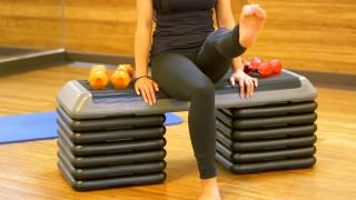 Download How to Exercise Your Legs While Sitting : Useful Exercise Tips Video