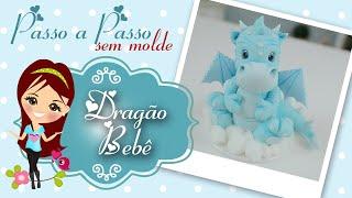 Download Dragão de Biscuit - Passo a Passo SEM MOLDE - Bia Cravol - DIY Video