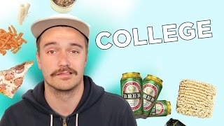 Download I Survived On A College Food Budget For A Week Video