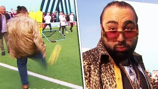 Download BOOM! Chabuddy G nails Volley & Crossbar Challenge 🔥 | Soccer AM PRO AM with David Prutton Video