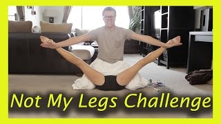 Download NOT MY LEGS CHALLENGE (w/ Rebecca Zamolo and MattSlays) Video