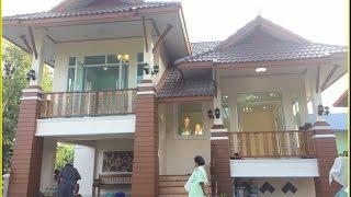Download แบบบ้านชั้นเดียวขนาดเล็ก บ้านป่าตาลBP31 อำนาจเจริญ Video