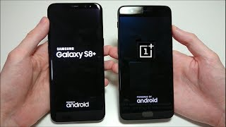 Download OnePlus 5 vs Samsung Galaxy S8 Plus Speed Test! Video