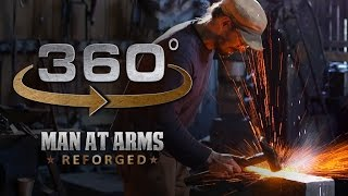 Download Forging Genji's Sword in 360° (1/4) – Overwatch – MAN AT ARMS: REFORGED Video