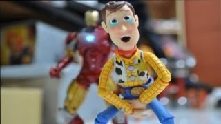 Download Iron man and Toy story stop motion : The Ambush 鋼鐵人與玩具總動員 Video