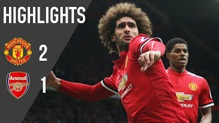 Download Manchester United 2-1 Arsenal   Highlights   Premier League Video