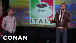 Download Q&A: Conan & Jordan's Favorite Meal in Italy Video