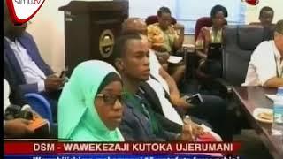 Download Ujumbe Wa Wekezaji Kutoka Ujerumani Wawasili Nchini Video