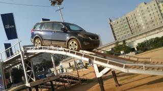Download Tata Hexa Bangalore Offroading Steep Ascent and Descend Video