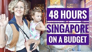 Download 48 HOURS IN SINGAPORE ON A BUDGET - A WEEKEND IN SINGAPORE - TRAVEL WITH KIDS Video