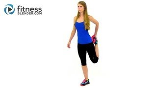 Download Light Cardio and Stretching Cool Down Workout - Relaxing Stretches for Flexibility Video